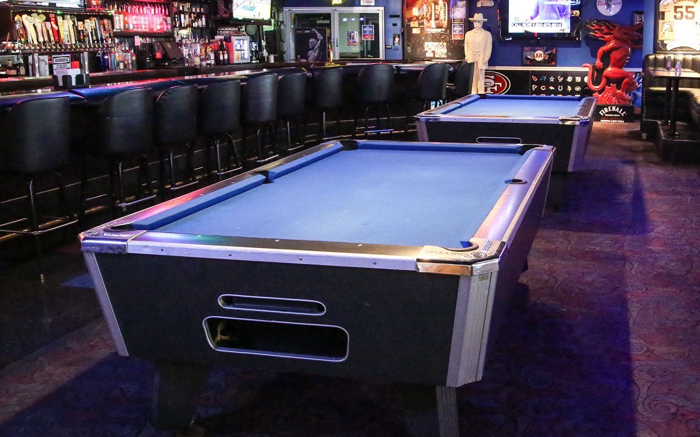 Free pool tournament