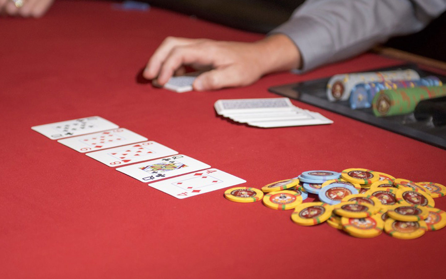No limit Texas Hold'em tournament